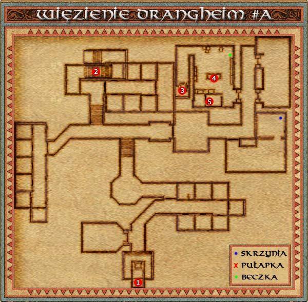 Do Więzienia Drangheim będziemy musieli przyjść wykonując jedno z zadań jarla Sturmford, a dokładniej to, którego celem jest uwolnienie generała Ivsara Widłozębego - Drangheim - Might & Magic IX: Writ of Fate - poradnik do gry