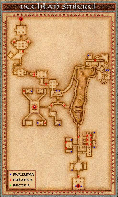 Pierwsza część tej lokacji jest stosunkowo prosta i możemy ją zwiedzić w stosunkowo wczesnym stadium gry (nie znajdziemy tu jednak nic ciekawego) - Drangheim - Might & Magic IX: Writ of Fate - poradnik do gry
