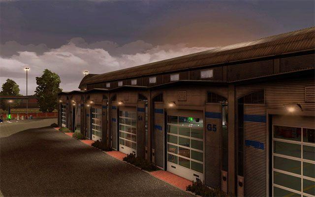 Posiadanie dużego garażu wiąże się z jeszcze jedną zaletą - Garaż - Euro Truck Simulator 2 - poradnik do gry