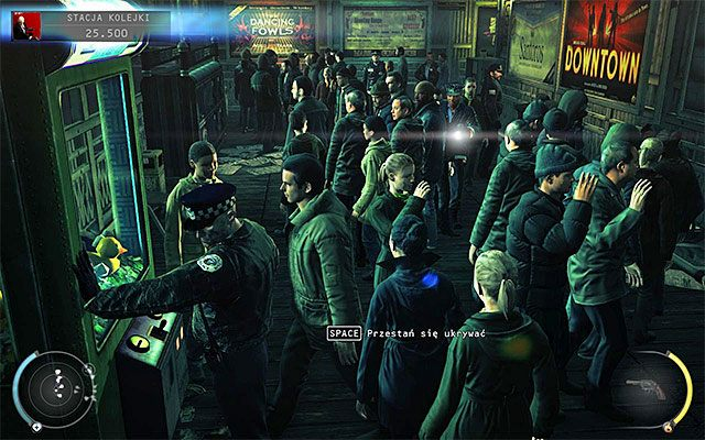 Musisz teraz powrócić na peron kolejowy - Uruchomienie semaforów kolejowych (Stacja kolejki) - 4 - Uciekaj, by przeżyć - Hitman: Rozgrzeszenie - poradnik do gry