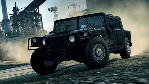Kolejnym wyjątkowym samochodem jest Hummer H1 Alpha - Lista samochodów - Need for Speed: Most Wanted - poradnik do gry