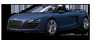 //AUDI R8 GT SPYDER - Samochody z punktów podmiany - Lista samochodów - Need for Speed: Most Wanted - poradnik do gry