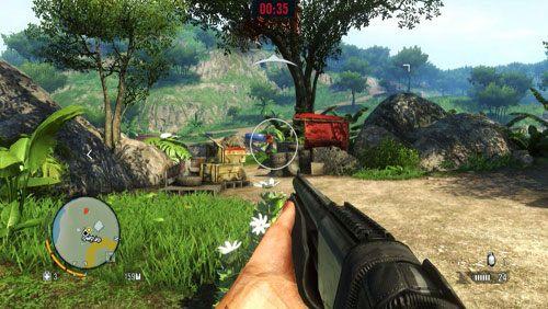Koniecznie dotrzyj w wyznaczone miejsce samochodem - Ratuj Olivera - Misje główne - Far Cry 3 - poradnik do gry