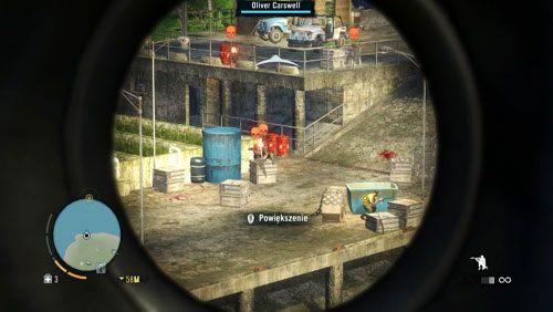 Następnie musisz osłaniać go, zabijając ścigających go wrogów - Ratuj Olivera - Misje główne - Far Cry 3 - poradnik do gry