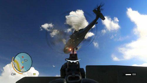Kiedy Oliver dotrze do łodzi, wskocz do wody i wejdź na wieżyczkę - Ratuj Olivera - Misje główne - Far Cry 3 - poradnik do gry