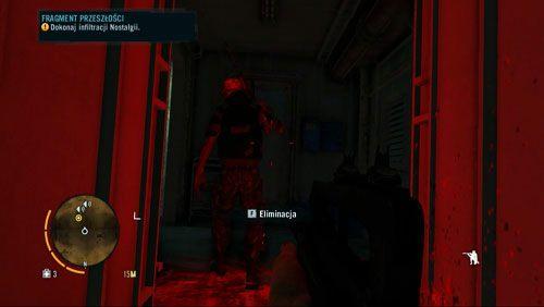 Po dostaniu się do środka, zaraz za drzwiami spotkasz pierwszego pirata, którego zabij nie wszczynając alarmu - Fragment przeszłości - Misje główne - Far Cry 3 - poradnik do gry
