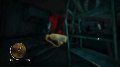 Wpłyń w korytarz za ciałem pirata, gdzie w następnym pomieszczeniu odnajdziesz kolejną butle z tlenem, której użyj - Fragment przeszłości - Misje główne - Far Cry 3 - poradnik do gry