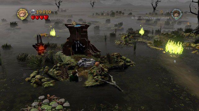 To już ostatni ogień do ugaszenia - Martwe Bagna - Opis przejścia - Akt II - LEGO The Lord of the Rings: Władca Pierścieni - poradnik do gry