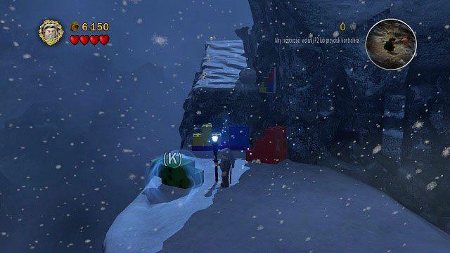 Czas na pierwsz� zagadk� w tej misji - Ob�askawienie Golluma - Opis przej�cia - Akt II - LEGO The Lord of the Rings: W�adca Pier�cieni - poradnik do gry