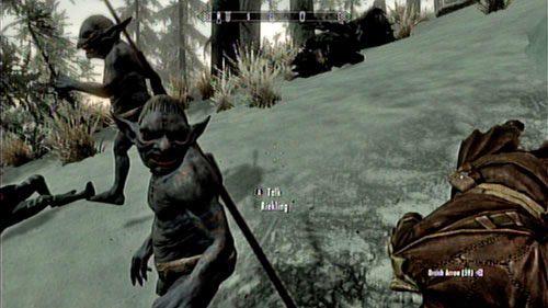Dotknij obelisku w centrum zburzonej budowli, a poznasz nową moc - Conjure Werebear (pozwala ona na tymczasowe przyzwanie potężnego sojusznika) - Cleanse the Beast Stone [Oczyść Kamień Bestii] - Cleansing the Stones [Oczyszczanie Kamieni] - The Elder Scrolls V: Skyrim - Dragonborn - poradnik do gry