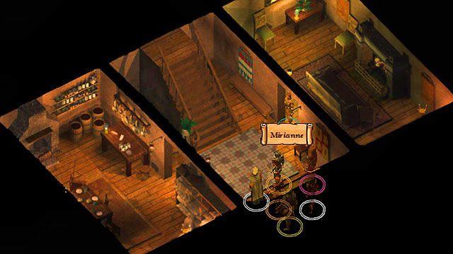 Mirianne zamieszkuje dom na wschodnim skraju miasta [9] - Mąż Mirianne - Rozdział 1 - zadania poboczne - Baldur's Gate: Enhanced Edition - poradnik do gry