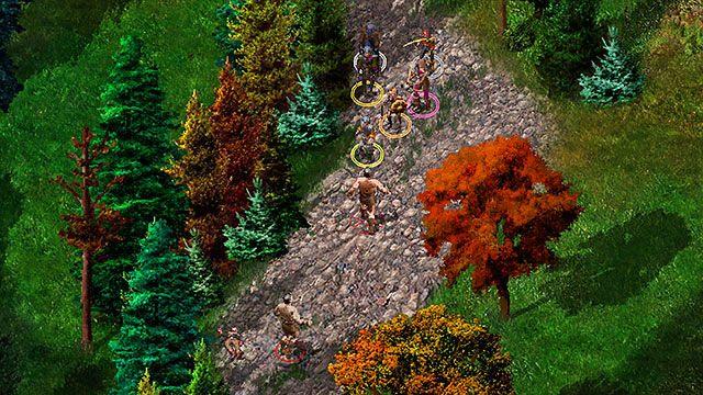 Idąc traktem, natkniesz się na kilka pół-ogrów, które czatują przy zwłokach bezimiennego niziołka - Mąż Mirianne - Rozdział 1 - zadania poboczne - Baldur's Gate: Enhanced Edition - poradnik do gry