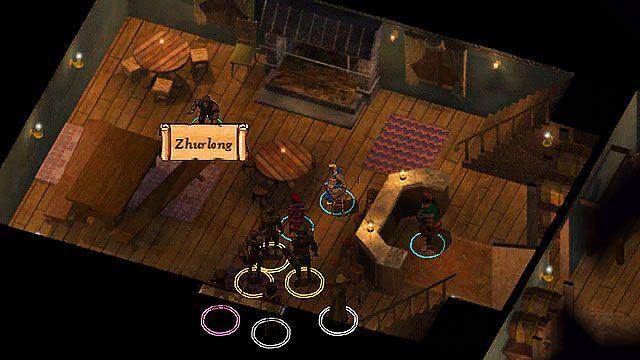 W Płonącym Czarodzieju [1] spotkasz Zhurlonga, niziołka kleptomana - Zaginione buty Zhurlonga - Rozdział 1 - zadania poboczne - Baldur's Gate: Enhanced Edition - poradnik do gry