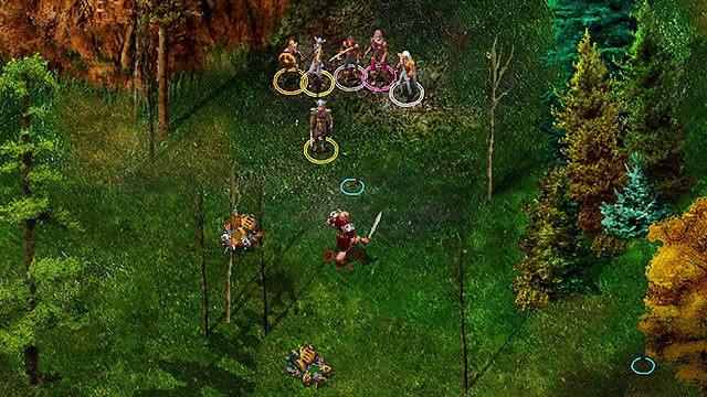 Hobgobliny, których szukasz mają swój obóz [3] obok jaskini, na zachód od traktu - Zaginione buty Zhurlonga - Rozdział 1 - zadania poboczne - Baldur's Gate: Enhanced Edition - poradnik do gry