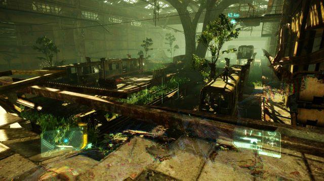 Otwórz kolejne drzwi i podążaj tunelem - Dotrzyj do północnej stacji kolejowej - Welcome to the Jungle - Crysis 3 - poradnik do gry