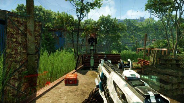 Przejdź na drugi koniec stacji i po schodach wejdź wyżej - Wyłącz źródło zakłóceń - Welcome to the Jungle - Crysis 3 - poradnik do gry