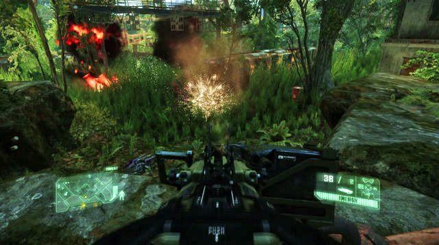 Na miejscu spotkasz Psycho - Wy��cz �r�d�o zak��ce� - Welcome to the Jungle - Crysis 3 - oficjalny polski poradnik do gry