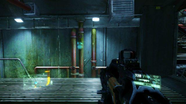 Po wydostaniu się na zewnątrz wskocz do wody wstrzymywanej przez tamę i dopłyń do wskazanego miejsca, gdzie podłóż ładunki wybuchowe - Zniszcz tamę - The Root of All Evil - Crysis 3 - poradnik do gry