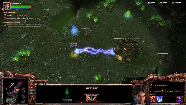 W międzyczasie powinniśmy dalej rozwijać nasza bazę - Dominacja - Kampania - Char - StarCraft II: Heart of the Swarm - poradnik do gry