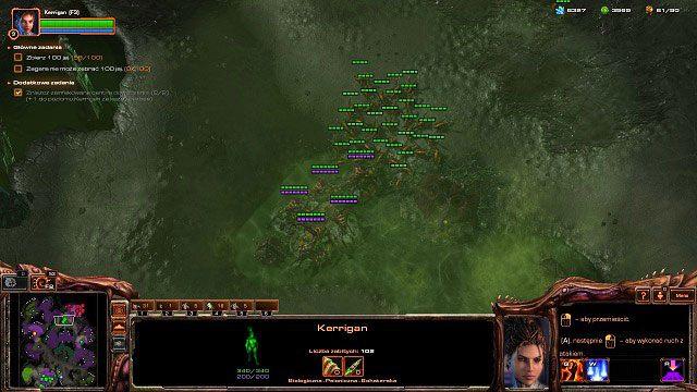 Następnym celem będzie przedpole przed bazą Zagary [2] - Dominacja - Kampania - Char - StarCraft II: Heart of the Swarm - poradnik do gry
