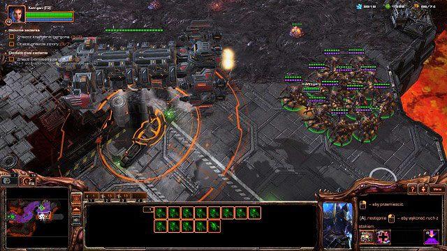 To już prawie koniec misji - Ogień na niebie - Kampania - Char - StarCraft II: Heart of the Swarm - poradnik do gry