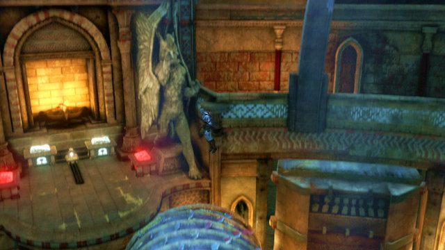 Rozwiązanie - Zerwany most, zagadka z walcem i Meduza - Początek wioski (2) - God of War: Ascension - poradnik do gry