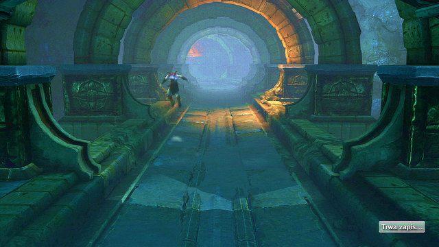 Nast�pnie kontynuuj w�dr�wk� w kierunku drugiego ko�ca mostu - 6 - Zbiornik - God of War: Ascension - poradnik do gry