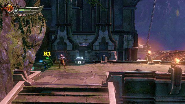 Kawałek dalej trafisz na trzy skrzynie - 6 - Zbiornik - God of War: Ascension - poradnik do gry