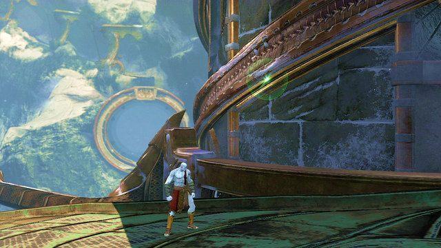 Po przerywniku przybijesz do okrągłej wieży - 6 - Zbiornik - God of War: Ascension - poradnik do gry