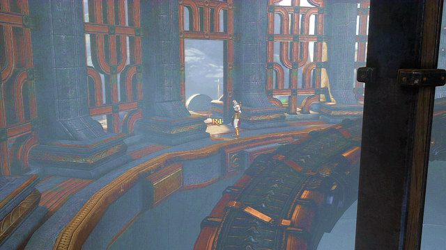 Następnie udaj się do góry - 6 - Zbiornik - God of War: Ascension - poradnik do gry