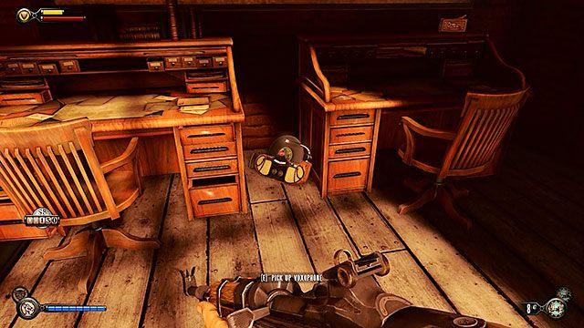 Po twardym l�dowaniu w dokach, wejd� od razu do centrum dostawczego po lewej - Znajd� Elizabeth - Rozdzia� 13 - Doki Finkton - BioShock: Infinite - poradnik do gry