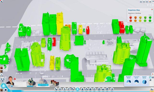 Potrzebujemy pieniędzy [We need money] - pojawia się, kiedy simowie ze stref mieszkaniowych nie mają dość gotówki aby zapłacić czynsz lub kupować w sklepach - Nietypowe powody niezadowolenia - Zadowolenie - SimCity - poradnik do gry
