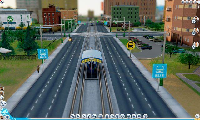 Jak już wspomniano, dworce kolejowe, terminale promów i miejskie porty lotnicze służą do komunikacji miasta z regionem i światem - Drogi i transport - SimCity - poradnik do gry