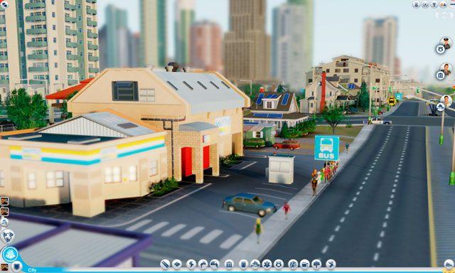 Zajezdnia autobusów wahadłowych to pierwszy budynek komunikacyjny, jaki należy wybudować - Budynki autobusowe - Drogi i transport - SimCity - poradnik do gry