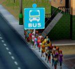Budynek - Budynki autobusowe - Drogi i transport - SimCity - poradnik do gry