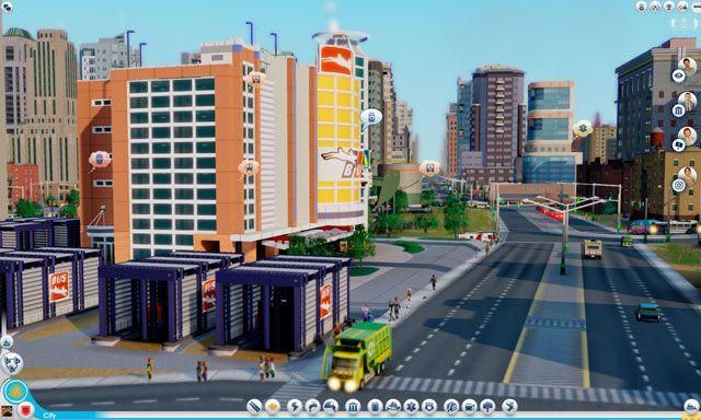 Uwaga - Budynki autobusowe - Drogi i transport - SimCity - poradnik do gry