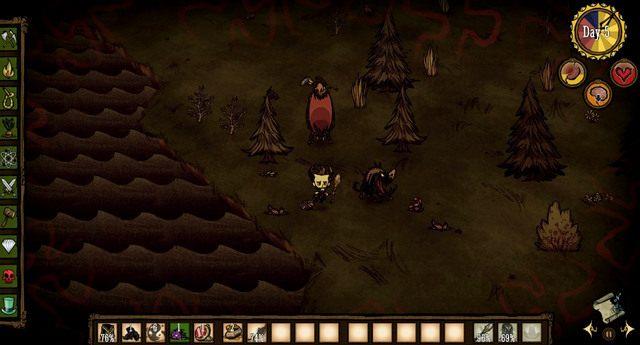 Po wybudowaniu Fire Pit i Science Machine będziesz mógł zabrać się za dalszy rozwój bazy wypadowej - Obrona obozu - Założenie obozu - Dont Starve - poradnik do gry