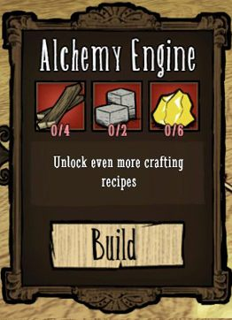 Twoim kolejnym celem powinno być stworzenie Alchemy Engine, który odblokowuje dużą ilość nowych schematów - Rozbudowa obozu - Założenie obozu - Dont Starve - poradnik do gry