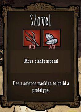 Tu z pomocą przychodzi nam łopata (Shovel) - Sadzonki - Zdobywanie pożywienia - Dont Starve - poradnik do gry