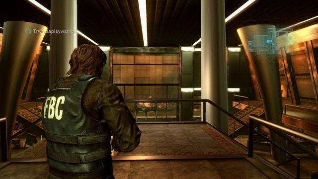 Po rozpoczęciu epizodu pozbieraj wszystkie przedmioty leżące w okolicy, a następnie wyjdź z pomieszczenia i zejdź po schodach na dół - Duchy Veltro - część I - Epizod 3 - Resident Evil: Revelations - poradnik do gry