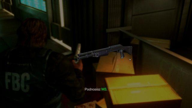 Na jego lewym końcu jest wejście do pokoju pełnego przydatnych przedmiotów - Duchy Veltro - część I - Epizod 3 - Resident Evil: Revelations - poradnik do gry