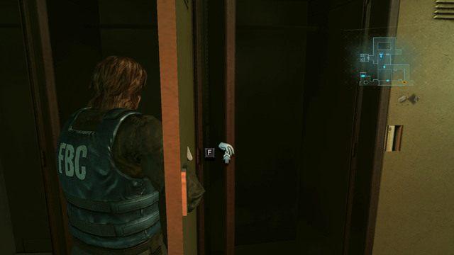 Przechodząc przez pomieszczenie z zielonym zielem leżącym na podłodze, dobrze przeszukaj pobliskie szafki - Duchy Veltro - część I - Epizod 3 - Resident Evil: Revelations - poradnik do gry