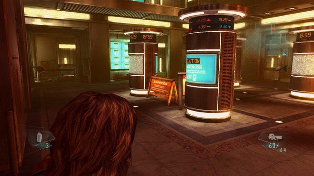 Kolejny korytarz zaprowadzi cię do poszukiwanej windy - Duchy Veltro - część I - Epizod 3 - Resident Evil: Revelations - poradnik do gry