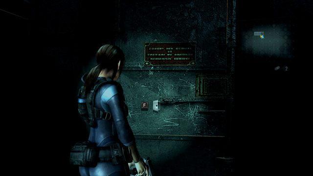 Gdy znajdziesz się na mostku, zejdź po schodach za Parkerem i otwórz stojące na dole drzwi - Duchy Veltro - część II - Epizod 3 - Resident Evil: Revelations - poradnik do gry