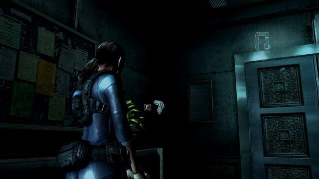 Za nimi znajdziesz amunicję, zielone ziele oraz niedziałającą windę - Duchy Veltro - część II - Epizod 3 - Resident Evil: Revelations - poradnik do gry