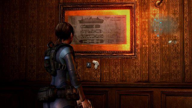 Za drzwiami z Hełmem znajduje się ładnie umeblowany pokój - Duchy Veltro - część II - Epizod 3 - Resident Evil: Revelations - poradnik do gry