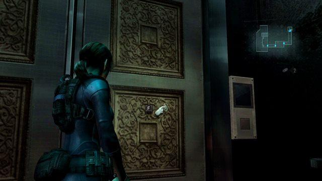 Po zabraniu mapy udaj się na mostek, a stamtąd do windy, która zabierze się do górnych kajut - Duchy Veltro - część II - Epizod 3 - Resident Evil: Revelations - poradnik do gry