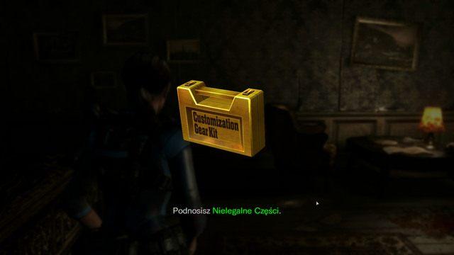 Jeśli użyjesz w środku Genesis, znajdziesz nielegalne części do broni - Duchy Veltro - część II - Epizod 3 - Resident Evil: Revelations - poradnik do gry