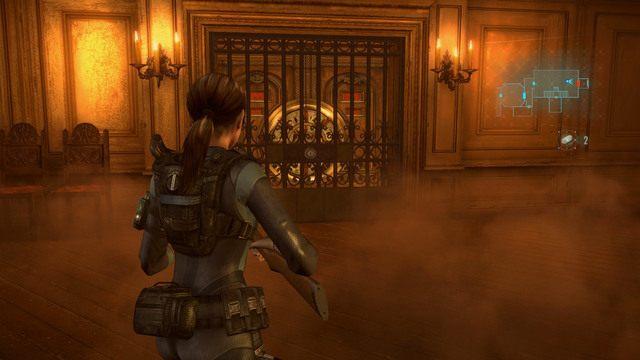 Twoim głównym celem jest jednak pokładowa jadalnia - Duchy Veltro - część II - Epizod 3 - Resident Evil: Revelations - poradnik do gry