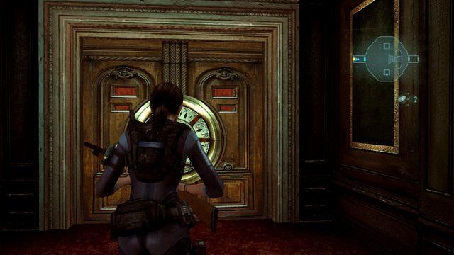 Przejdź przez nie, zbierz leżącą na dole amunicję, a następnie wejdź w korytarz z prawej - Duchy Veltro - część II - Epizod 3 - Resident Evil: Revelations - poradnik do gry
